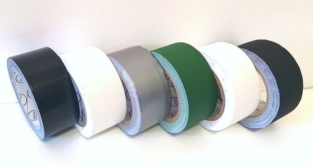 Duct tape and Gaffer Tape