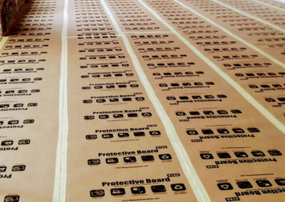 Protective Board XTRA Heavy Duty Floor Protection for concrete floors